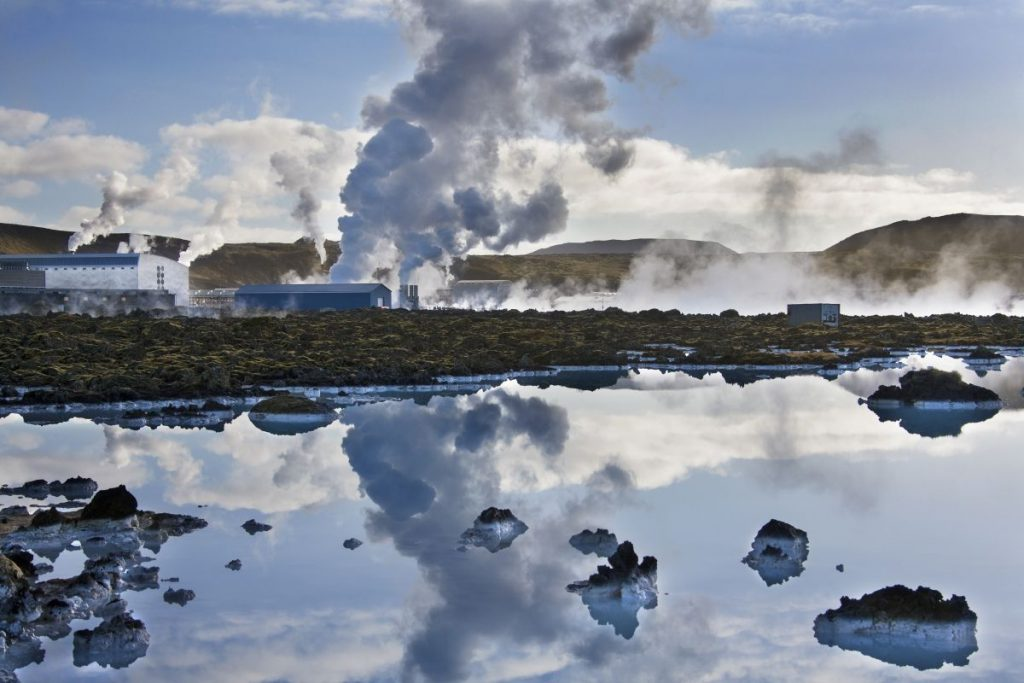 Svartsengi Geothermal Power Station, Iceland