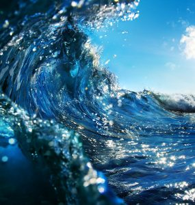 Waves on the ocean