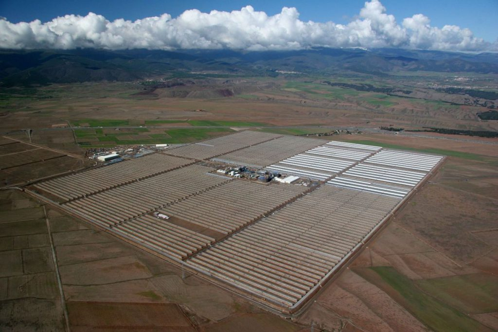 Andasol solar plant
