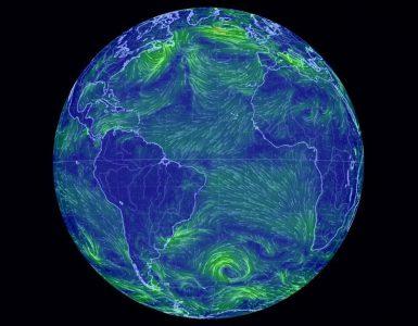 wind simulator globe