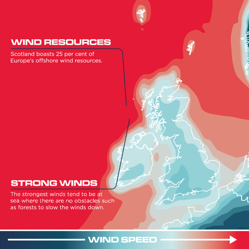 UK Wind Map