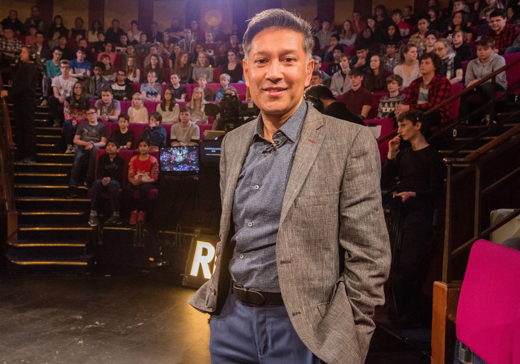 Saiful Islam at the Royal Institution. Photo by: Paul Wilkinson
