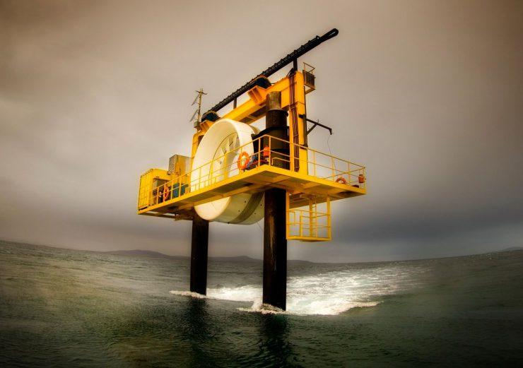 Tidal energy machine